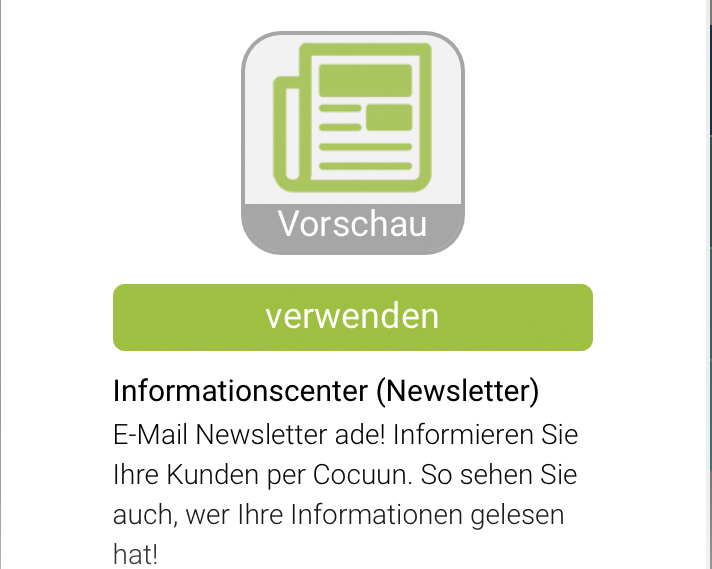 E-Mail-Newsletter Alternative