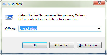 Cocuun in Windows-Autostart